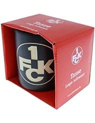 1. FC Kaiserslautern Tasse Logo, Schwarz, 3234