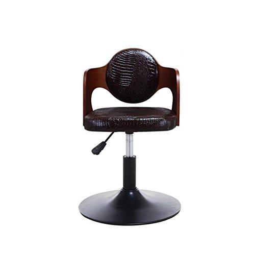 CJC Tabourets de bar Chaise de salle à manger haute pied Haut / bas Ajustement Rétro Rotation