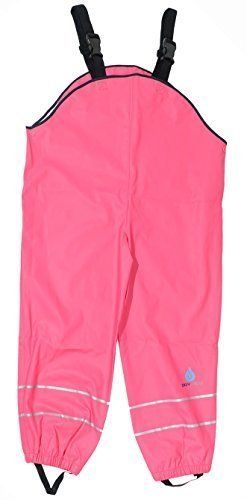 Dry Kids Dungarees Unlined - Raspberry 7/8yrs