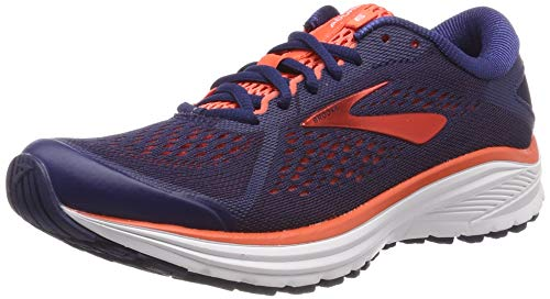 Brooks Aduro 6, Scarpe da Running Donna, Blu (Blue/Coral/White 438), 37.5 EU