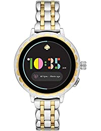 Kate Spade New York Scallop 2 Touchscreen Smartwatch -Two-Tone Silver/Gold Stainless Steel for Women's KST2012