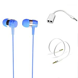 TrendyIndia Combo Accessory Perfumed Handsfree With Handsfree Splitter, Aux Cable For SAMSUNG Z1