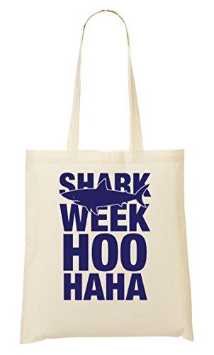 C+P Shark Week Hoo Haha Tragetasche Einkaufstasche