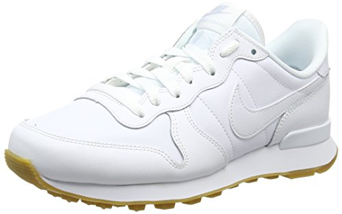 Nike Damen Internationalist Sneakers, Mehrfarbig White/Gum Light Brown 103, 39 EU (Nike-muster Schuhe Frauen)