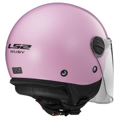 LS2 - Casco Casco Wuby Solid, Rosa, S