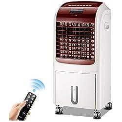 JIANXIN Climatiseur Portable, Refroidisseur D'humidité À Double Usage Pour Télécommande, Rouge