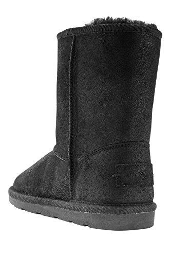 next Boots À Enfiler En Peau De Mouton (Fille) Standard Fille Noir