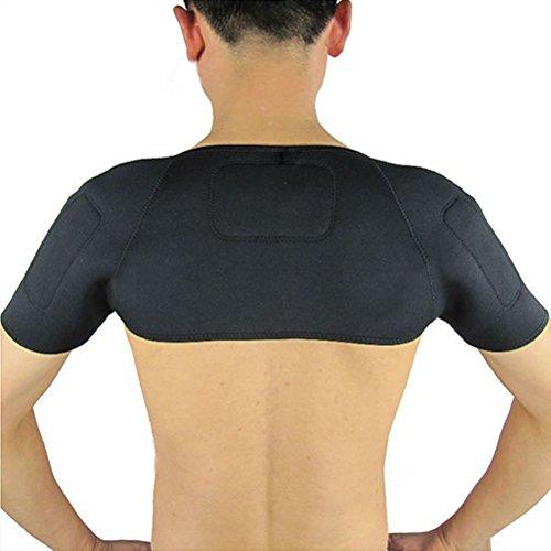 Pixnor Spalla Pad cintura terapia magnetica autoriscaldante spalla Supporto Brace protettore termico