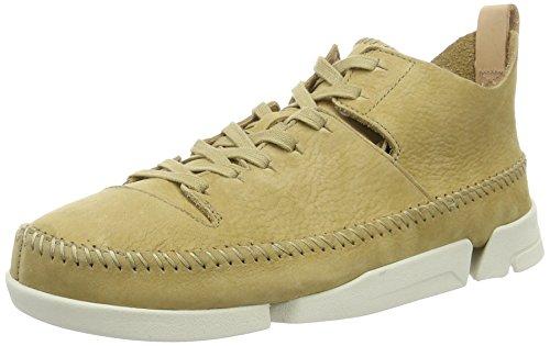clarks-originals-mens-trigenic-flex-low-top-sneakers-beige-maple-6-uk