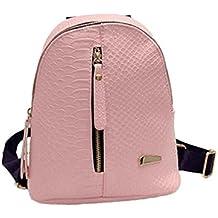 XINANTIME - Bolsa de viaje Bolsa de hombro Mochilas de cuero para mujer Bolsas de escuela