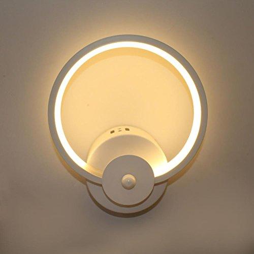 Moderne Task-lampe (OOFAY Moderne minimalistische kreative LED Nachttischlampe Embedded Lampe Eingang Treppen Schlafzimmer Wandbeleuchtung)