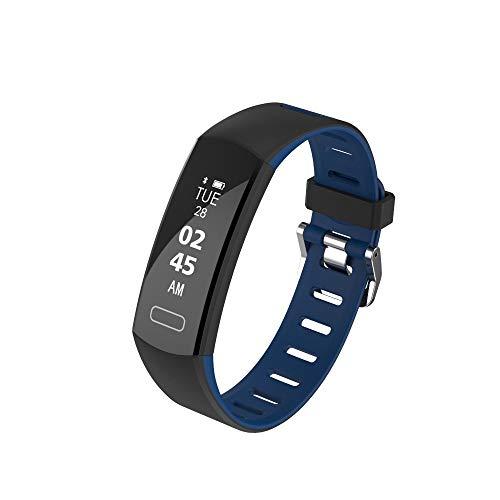 OPAKY Screen Sleeping Monitor Bluetooth 4.0 Smart Armbanduhr Schrittzähler für Kinder, Damen, Männer