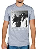 Ulterior Clothing Suicide Boys Black and White Pose T-Shirt