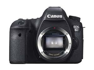 Canon EOS 6D SLR Camera Body 20.2MP CMOS 5472 x 3648pixels Black - digital cameras (20.2 MP, 5472 x 3648 pixels, CMOS, Full HD, 755 g, Black)