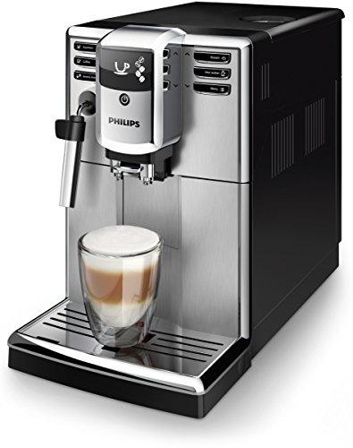 Philips Kaffeevollautomat EP5315/10 Vollkaffeeautomat, Kunststoff, 1.8 liters, Schwarz, Edelstahl