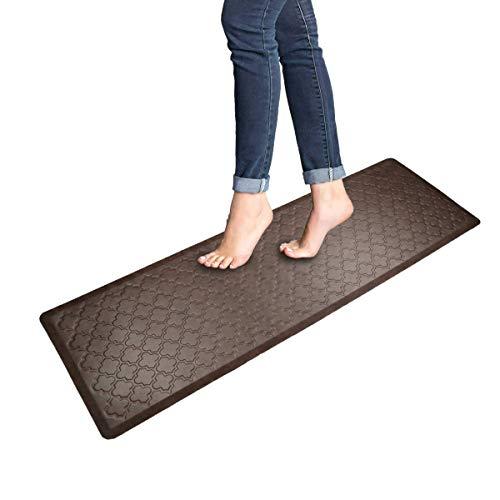Pauwer Anti-Müdigkeit Komfort-Matte für Stehtisch Schreibtisch Dicke Küche Teppich Matte Gepolstert Wasserdicht Fleckenabweisend Küche Boden Comfort Matte 20