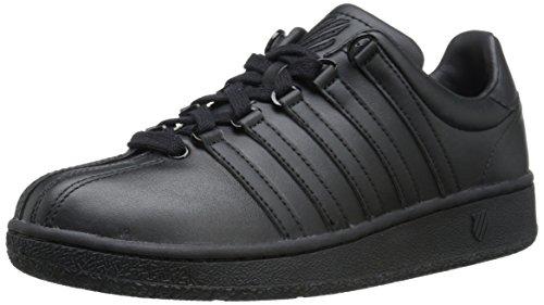 K-Swiss Classic VN, Sneaker Donna Nero Nero (Black/Black) 38.5