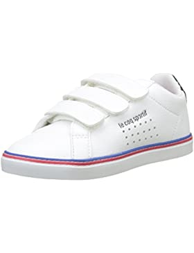 Le COQ Sportif Courtace PS Sport Optical White/Dress Bl, Zapatillas Unisex Niños