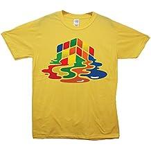 Cubo de Rubik derritiéndose camiseta