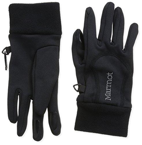 marmot-guanti-donna-power-stretch-nero-black-s