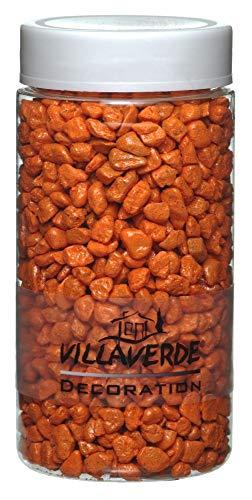 Unbekannt Villa Verde Dekosteine 5-8 mm orange