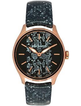 Cacharel Damen-Armbanduhr Analog Quarz Leder CLD 002-2AA