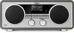 TechniSat DIGITRADIO 600 - DAB+ & UKW fähiges Digitalradio (2.1 Stereo Bluetooth Lautsprecher, WLAN Radio mit integriertem CD Player & Wecker)