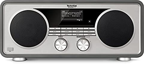 TechniSat Digitradio 600 - Stereo-Radio mit Subwoofer (CD-Player und Multiroom Audio-Streaming, WLAN, Bluetooth, Spotify Connect, Steuerung per App, USB, UPnP Audio-Streaming, 70 Watt RMS) anthrazit