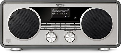 TechniSat Digitradio 600 Internetradio (Spotify, WLAN, LAN, DAB+, DAB, UKW, CD-Player, Bluetooth, Radiowecker, Wifi-Streamingfunktion, Multiroom, 2 x 20 Watt Lautsprecher, 30 Watt Subwoofer) anthrazit