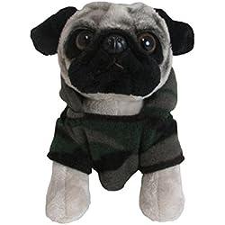 Kids Preferred kp-54084Doug–el perro carlino con pijama de camuflaje