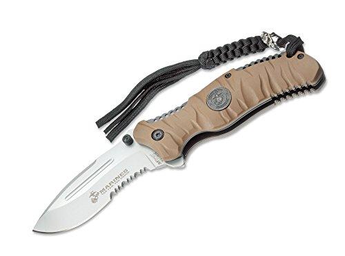 USMC Herren Messer US Marines Reaper Desert 9 cm khaki, One size -