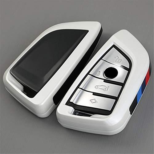 XUWLM Schlüsselanhänger ABS Autoschlüssel Cover Case Plating Fernbedienung Schlüssel Tasche Halter für BMW X1 X5 X6 F15 F16 F48 BMW 1/2 Series Klinge Schlüsselanhänger, Stil 5 -