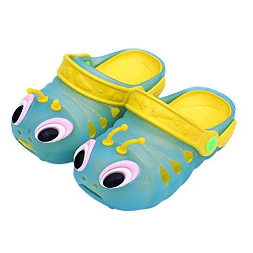 West See Baby Kinder Junge Mädchen Nette Sandale Nette Strand Schuhe Sommer Clogs (22, Blau)
