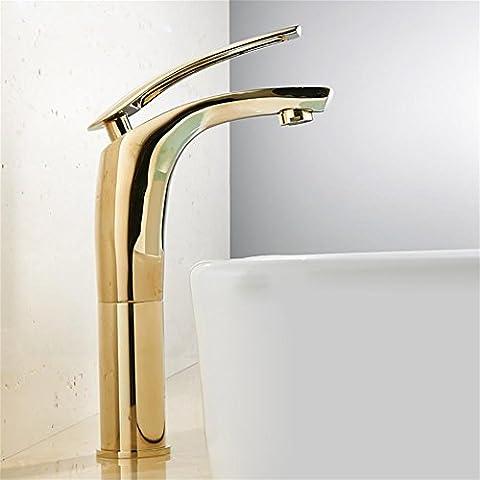 MCC Moderne or robinet évier salle de bains chaude et froide à levier unique poignée simple robinet de cuisine et salle de bains tactile sur Taps ,