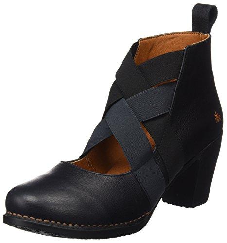 Art Damen Genova Kurzschaft Stiefel, Schwarz (Memphis Black 1240), 39 EU (Schuhe Art Stiefel)