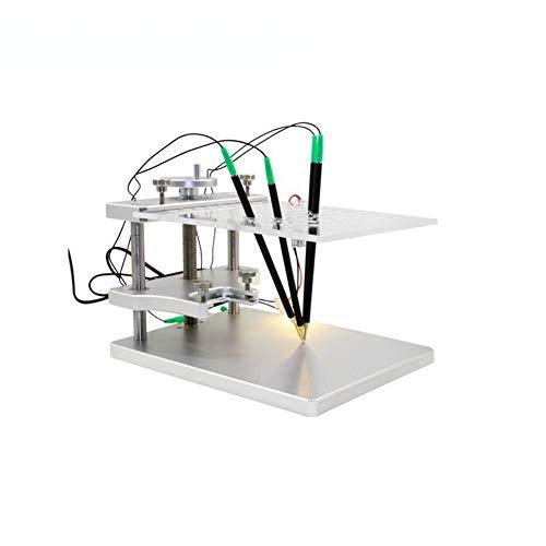 GMTes BDM Frame mit Adapter-Set, aus hochwertigem Edelstahl gefertigt, kann auf BDM100-Programmierern, KESS V2, Ktag, Fgtech, CMD, ETC verwendet Werden
