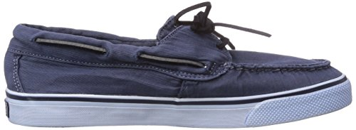 Sperry BAHAMA 2-EYE WASHED Damen Sneakers Blau (Navy)