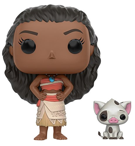 Funko - Figurine Disney Vaiana / Moana - Moana & Pua Pop 10cm - 0849803099268