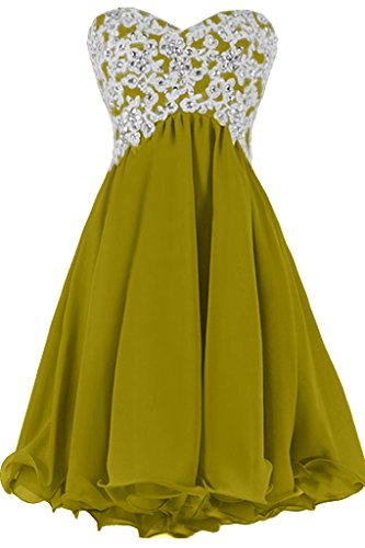 Sunvary Sweetheart pizzo a-line abito da sera Homecoming appliques garza Verde oliva