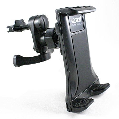 scozzi Lüftungs-Halterung für [Sony Xperia XZ3 XZ2 XZ1 XA2 XA1 XA X XZ XZs M5 M4 M2 M E5 E4 E3 E1 E L2 L1 Z5 Z4 Z3 Z2 Z1 Z ZR ZLC5 C | Premium Compact Plus Ultra Aqua Tablet + mehr] Auto KFZ Halter