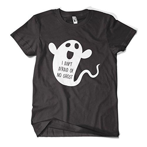 MYOG I Aint Afraid Of No Ghost T Shirt Funny Halloween Costume Mens Girls Tee Top New, For Men & Women Sizes S-XL
