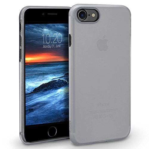 iPhone 8 Hülle [UltraSlim, Slim, Slim-Fit], Orzly® - FlexiSlim Case für Apple iPhone 8 / iPhone 7 (4,7 ZOLL Version des 2016 Modells SmartPhone / Handy) - Extrem dünne Slim Case / Schutzhülle / Hülle  WEIß FlexiSlim für iPhone 7