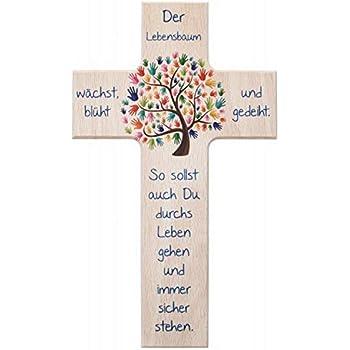 Taufkreuz Kinder-Kreuz Kinderzimmer Bub betend mit ...