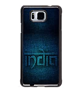 PrintVisa Incredible India Indian High Glossy Designer Back Case Cover for Samsung Galaxy Alpha :: Samsung Galaxy Alpha S801 :: Samsung Galaxy Alpha G850F G850T G850M G850FQ G850Y G850A G850W G8508S :: Samsung Galaxy Alfa
