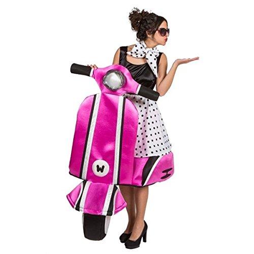 Frauen Jahre Kostüm 60er - Generique - Premium-Kostüm Vespa der 60er Jahre für Frauen Einheitsgröße