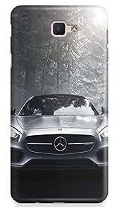 PCM High Quality Printed Designer Polycarbonate Hard Back Cover for Samsung Galaxy J5 Prime - Matte Finish - Color Warranty - 2318
