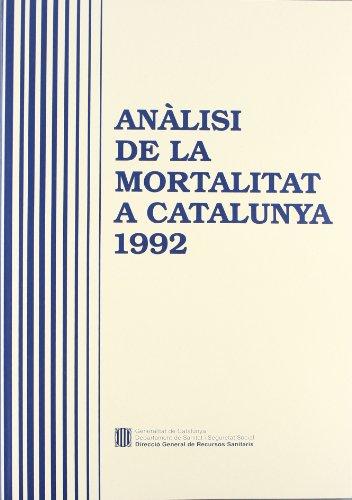 Anàlisi de la mortalitat a Catalunya
