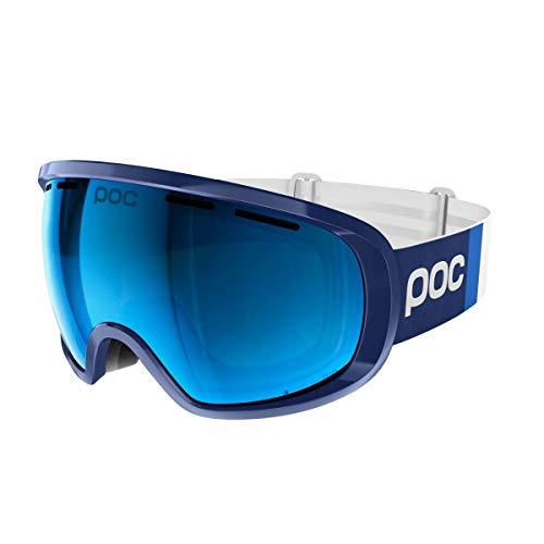 POC Sports Fovea Clarity Comp Schwimmbrille, Lead Spetris Blue, Einheitsgröße