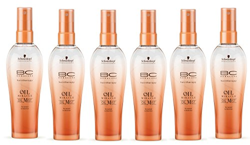 Schwarzkopf Professional Bonacure Oil Mist normal Pack of six (6x100ml)