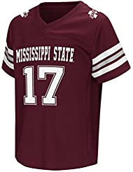 "Mississippi State Bulldogs NCAA ""Hail Mary Pass"" Toddler Football Jersey Maillot"